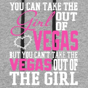 Proud Vegas Girl Shirt - Colorblock Hoodie