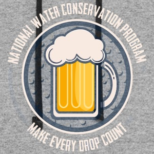 Conserve Water - Colorblock Hoodie