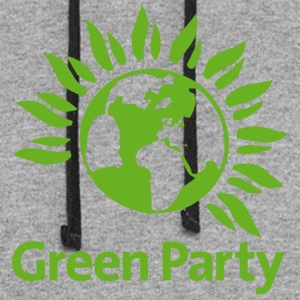 Green Party - Colorblock Hoodie