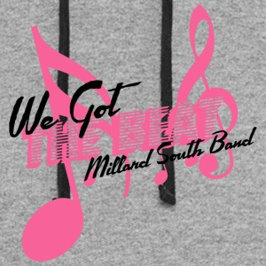 We Got The Beat Millard South Band - Colorblock Hoodie