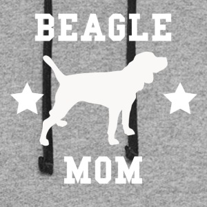 Beagle Mom - Colorblock Hoodie