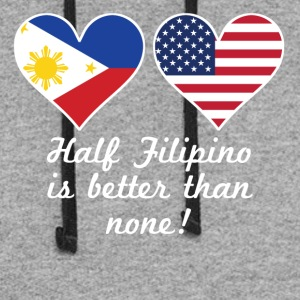 Half Filipino Is Better Than None - Colorblock Hoodie
