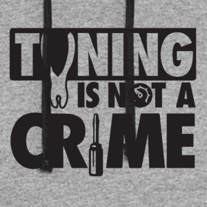 Tuning is not a crime - Colorblock Hoodie