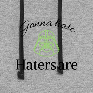 Haters gonna hate - Colorblock Hoodie