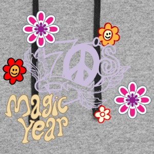 magic year - Colorblock Hoodie