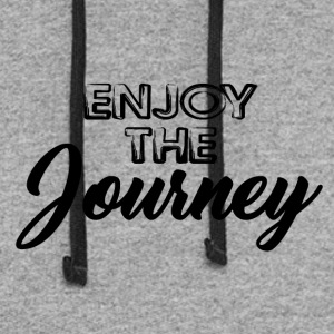 Enjoy the Journey - Colorblock Hoodie