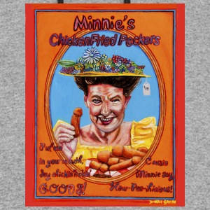 Minnie's Chicken Fried Peckers - Colorblock Hoodie