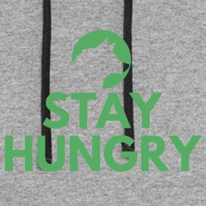 Stay hungry Project Wolfpack - Colorblock Hoodie