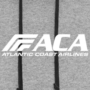 atlantic coast airlines 843 - Colorblock Hoodie