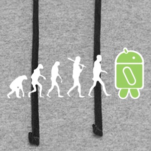 The Evolution to Android - Colorblock Hoodie