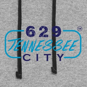 629TENNESSEE CITY10 - Colorblock Hoodie