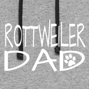 Rottweiler Dog Dad - Colorblock Hoodie