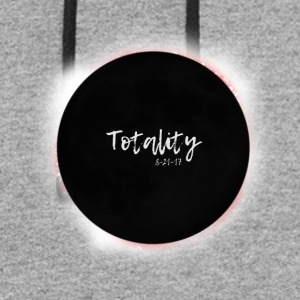 I Saw Totality Total Solar Eclipse Graphic - Colorblock Hoodie