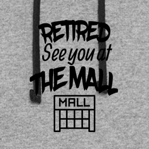 Retired See You At The Mall - Colorblock Hoodie