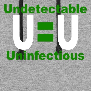 Undetectable Uninfectious Virus - Colorblock Hoodie