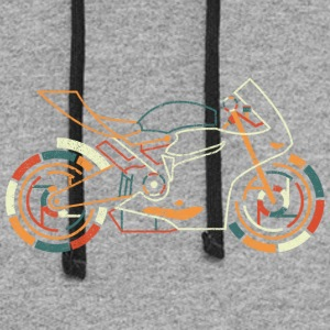Superbike T SHirt - Colorblock Hoodie