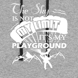 Paragliding Playground Shirts - Colorblock Hoodie