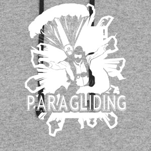 Paragliding Tee Shirt - Colorblock Hoodie