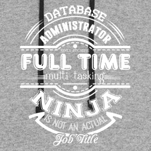 Database Administrator Shirt - Colorblock Hoodie