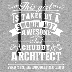 Smokin Hot Awesome Architect Shirt - Colorblock Hoodie