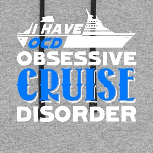 Obsessive Cruise Disorder Tshirt - Colorblock Hoodie