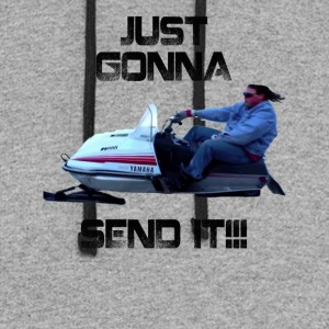 Just Gonna Send It Larry Enticer Tee Shirt - Colorblock Hoodie