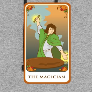 The Magician Tarot Card Tee Shirt - Colorblock Hoodie