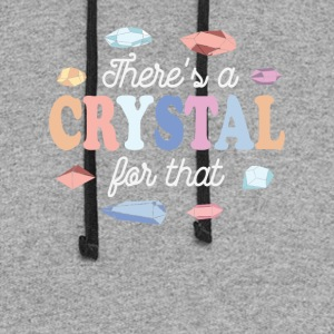 Theres a Crystal For That - Colorblock Hoodie