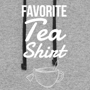 Favorite tea shirt - Colorblock Hoodie