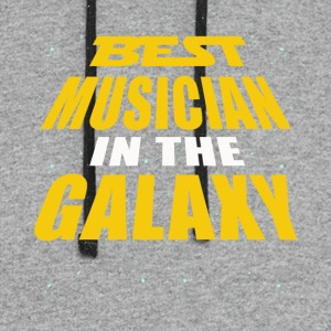 Best Musician In The Galaxy - Colorblock Hoodie