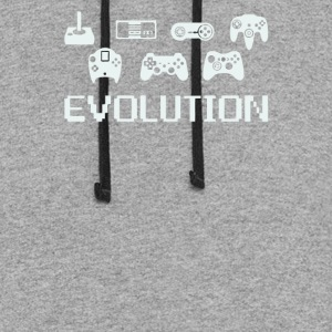 Evolution of Video Game - Colorblock Hoodie
