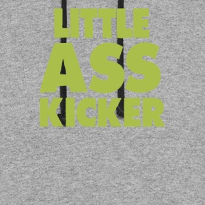 Little Ass Kicker Walking - Colorblock Hoodie