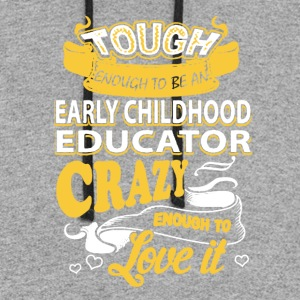 Early Childhood Educator Shirt - Colorblock Hoodie