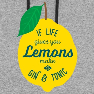 Gin and Tonic - Colorblock Hoodie