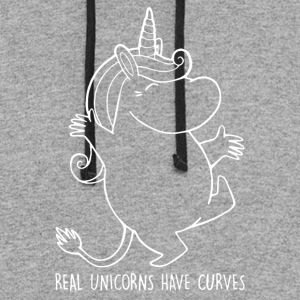 Moomin Real Unicorns - Colorblock Hoodie