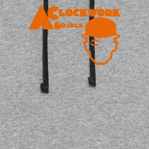 4 ARANCIA MECCANICA clockwork orange CINEMA TV - Colorblock Hoodie