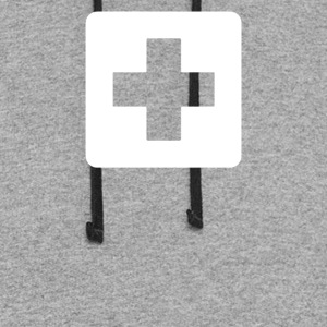 First Aid Symbol - Colorblock Hoodie