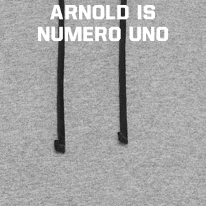 Arnold Is Numero Uno - Colorblock Hoodie