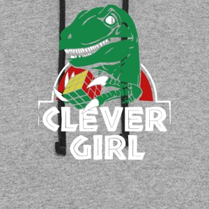 CLEVER GIRL - Colorblock Hoodie