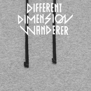 different dimension wanderer - Colorblock Hoodie