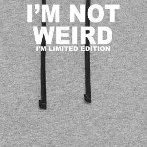 Im Not Weird Limited Edition - Colorblock Hoodie