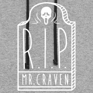 RIP Mr Craven - Colorblock Hoodie
