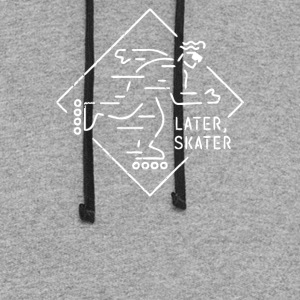 Later Skater - Colorblock Hoodie