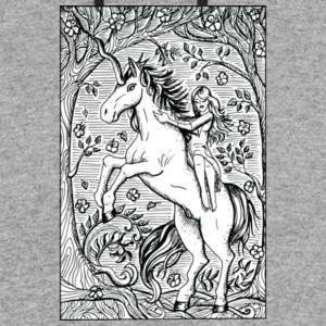 Unicorn Ride A Horse Gift Shirt Preminium - Colorblock Hoodie