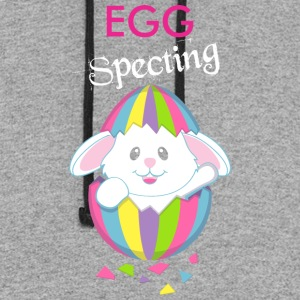 Egg Specting Easter - Colorblock Hoodie