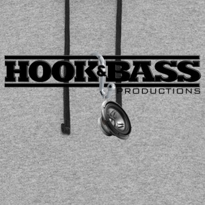 Hook & Bass Productions Gear - Colorblock Hoodie