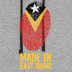 Made In East Timor - Colorblock Hoodie