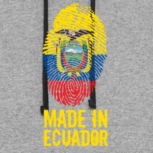 Made In Ecuador - Colorblock Hoodie
