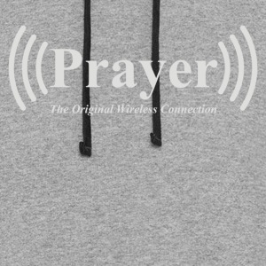 Prayer The Original Wireless Connection - Colorblock Hoodie