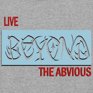 live beyond the abvious - Colorblock Hoodie